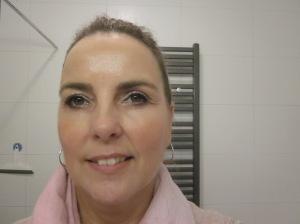 Gezicht nog met make-up