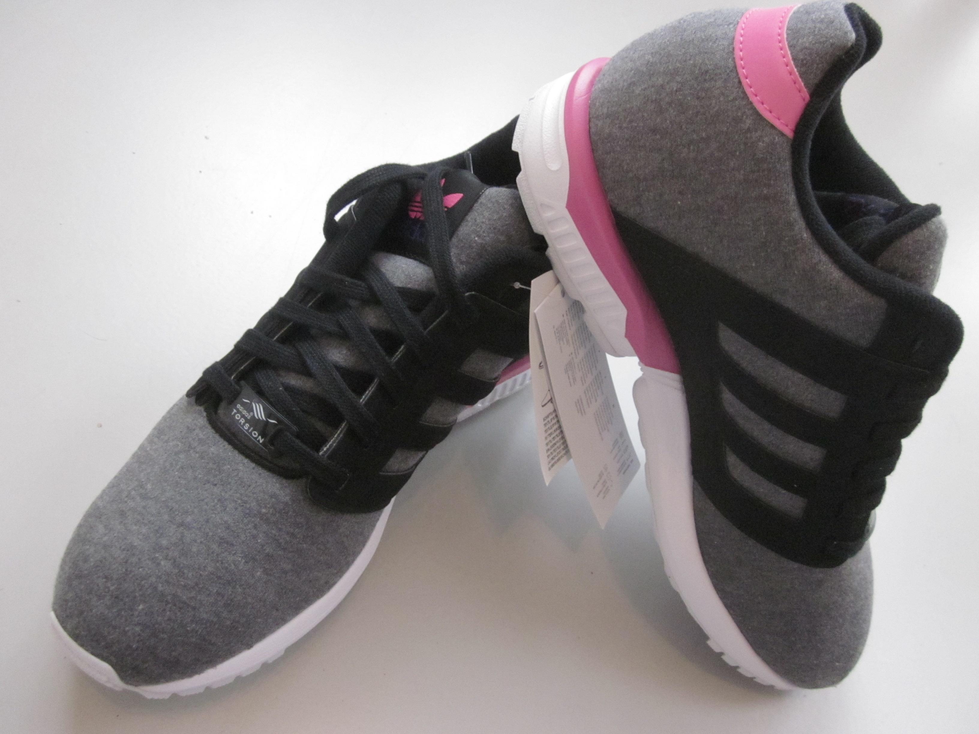 adidas sneakers dames grijs roze