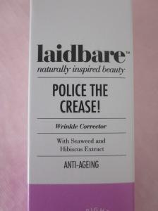 Laidbare Police the crease