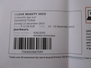 I Love Beauty event