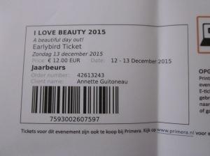I Love Beauty event