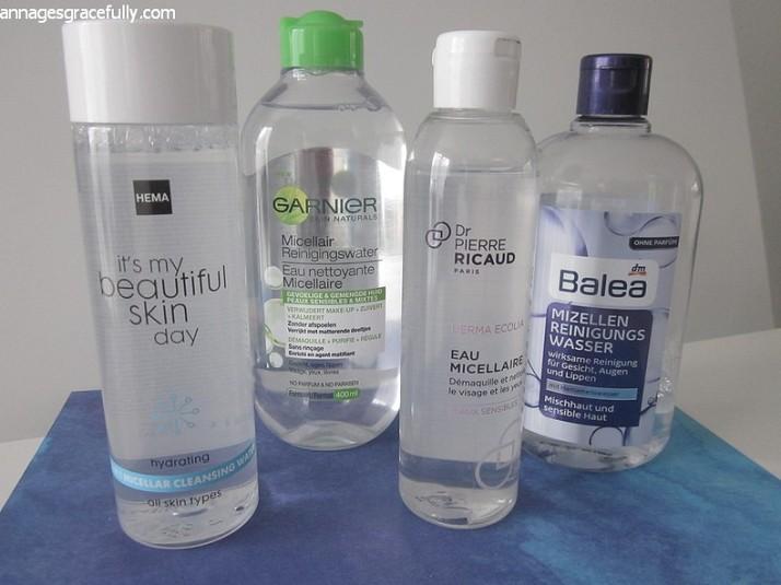 micellaire water Hema Balea Garnier