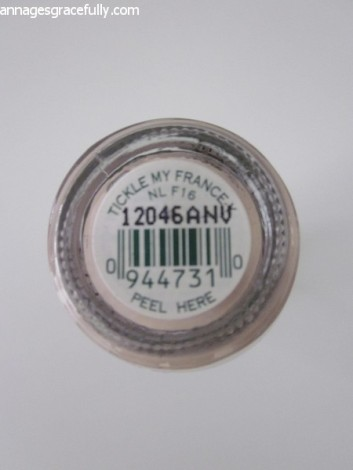 OPI tickle my France ann ages gracefully