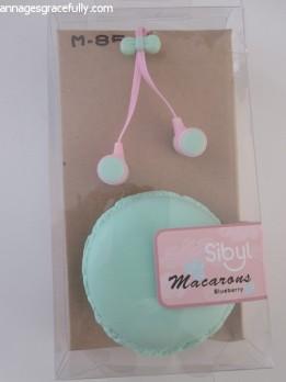 Macaron oordopjes