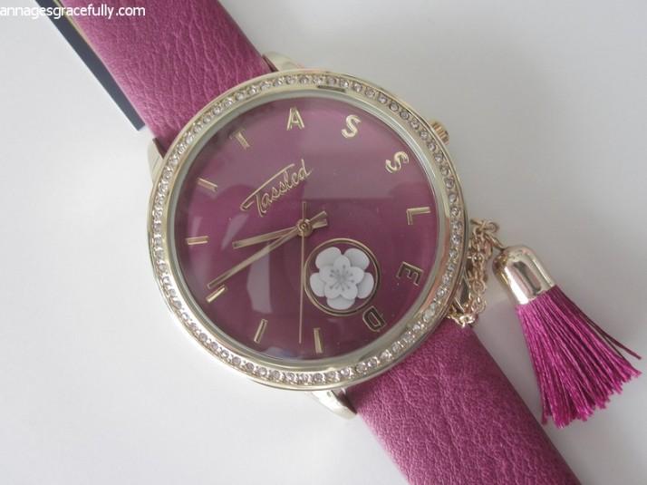 Tassled horloge lucardi