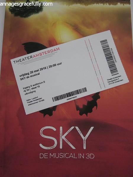 Sky de musical in 3D