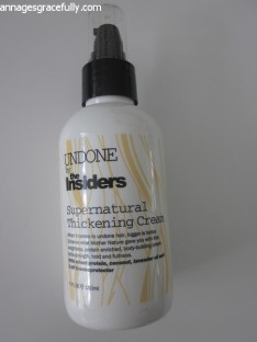 Undone The Insiders Thickening cream