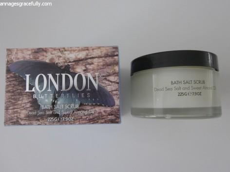 London Butterflies Bath Salt Scrub