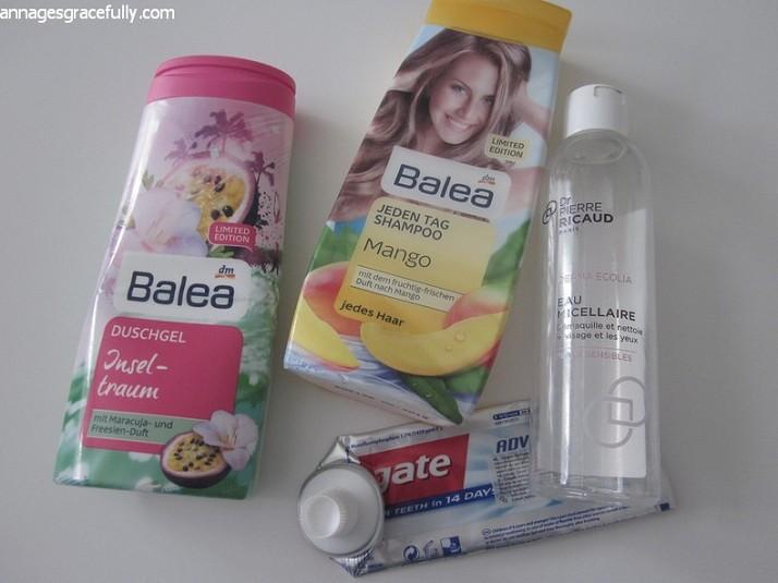 Balea Mango Shampoo Dr. Pierre Ricaud Micellair water
