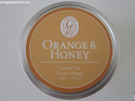 Greenleaf Orange & Honey