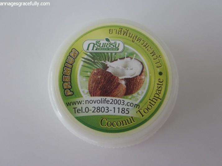 Kokos tandpasta