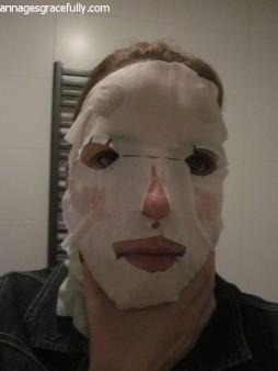 Utsukusy Hyaluronic Acid veil mask sheet masker