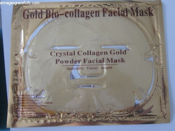 Collageen gezichtsmasker Crystal Gold