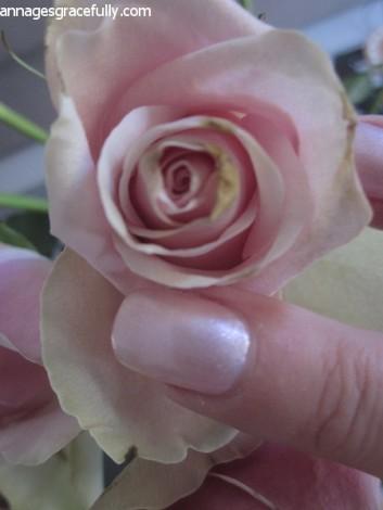 Etos Pink Sparkle nagellak