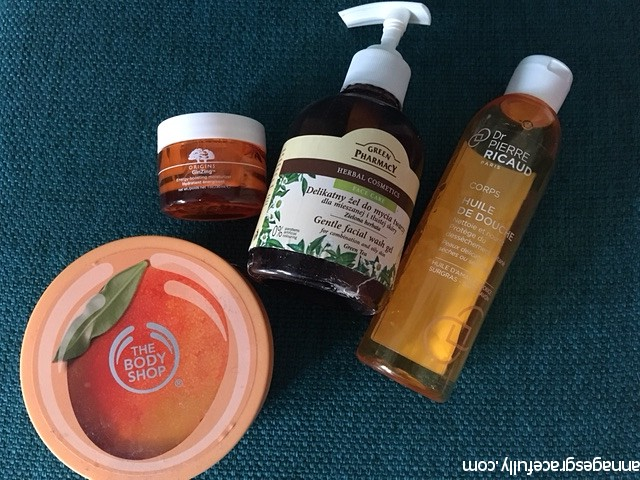 Ginzing Origins Dr. Pierre Ricaud The Body Shop Green Pharmacy