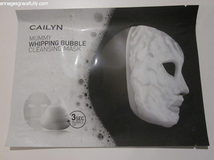 Cailyn Mummy Whipping Bubble Cleansing Mask