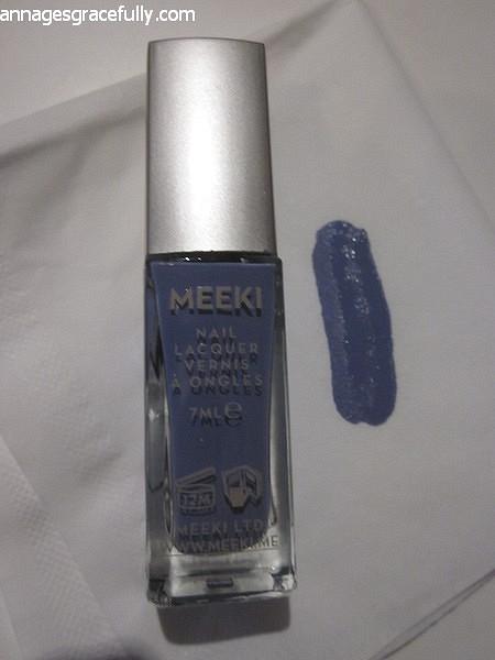 Meeki Lilac nailpolish nagellak