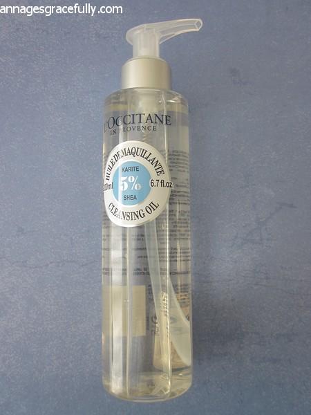 L'occitane Shea Cleansing Oil