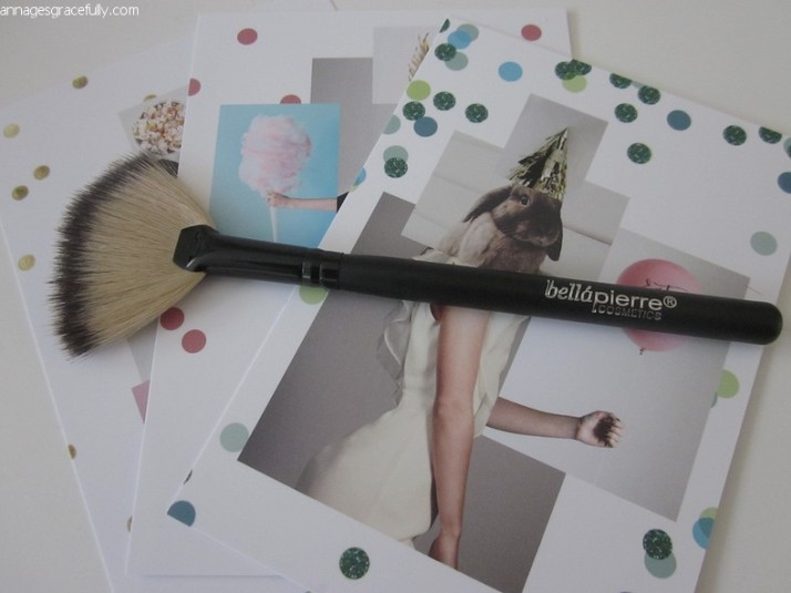Bellapierre fan brush
