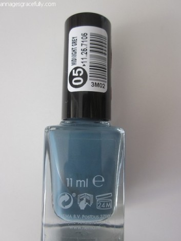Hema Midnight Grey Long Lasting nailpolish