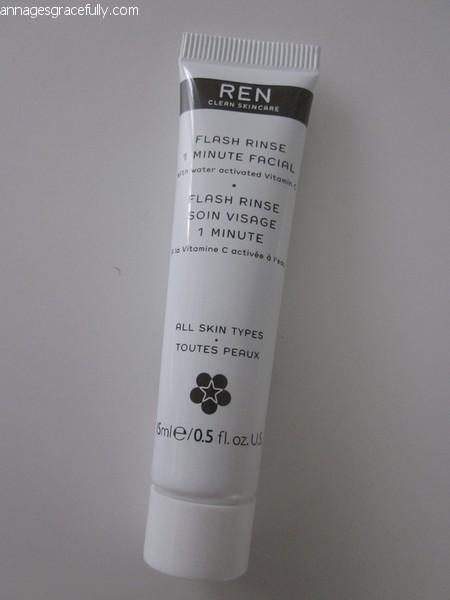 REN 1 minute Flash Rinse