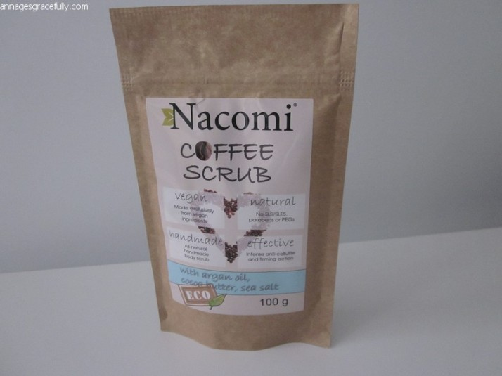 Nacomi Coffee scrub