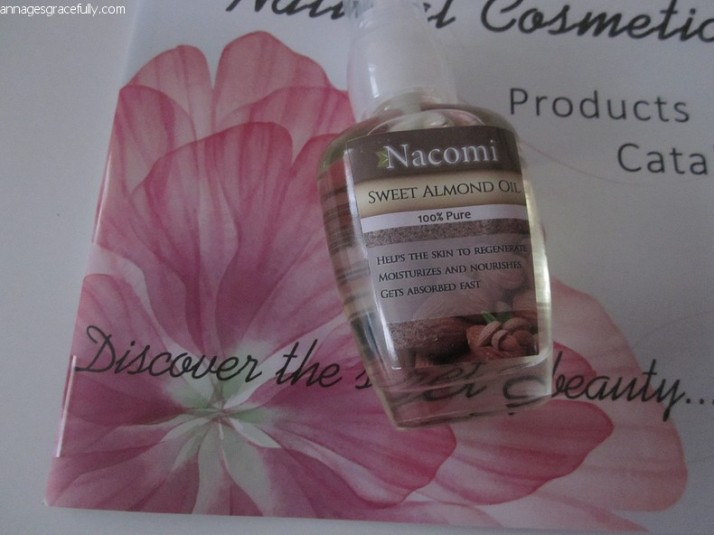 Nacomi Sweet Almond Oil