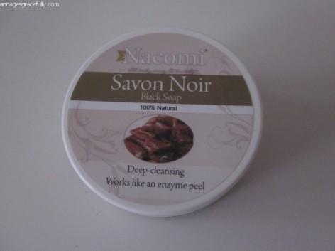 Nacomi Black Soap Savon Noir