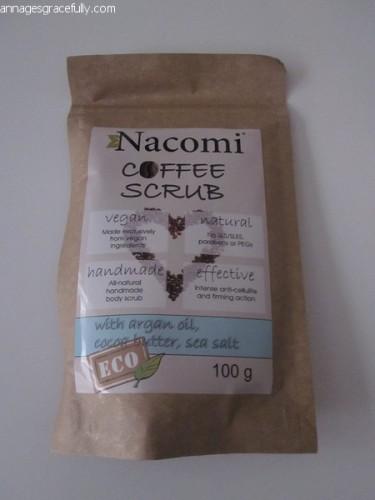 Nacomi coffee scrub