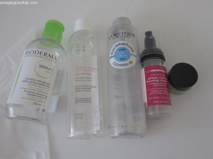 Bioderma, Ole Henriksen, L'Occitane, Dr. Pierre Ricaud micellaire water gezichtsreiniger