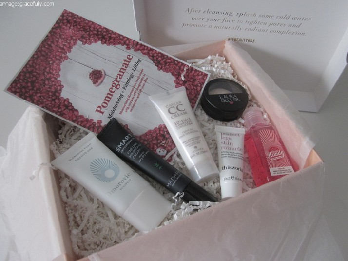 Look Fantastic Beautybox april 2017