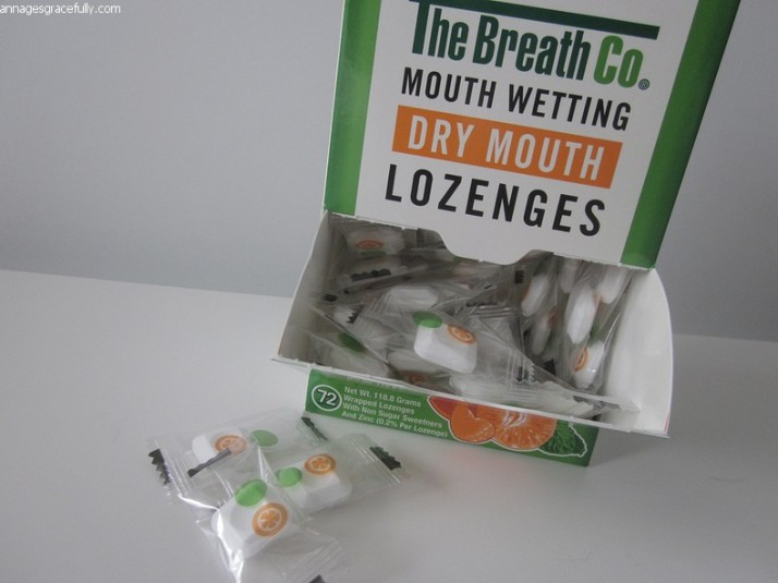 The Breath co. dry mouth lozenges