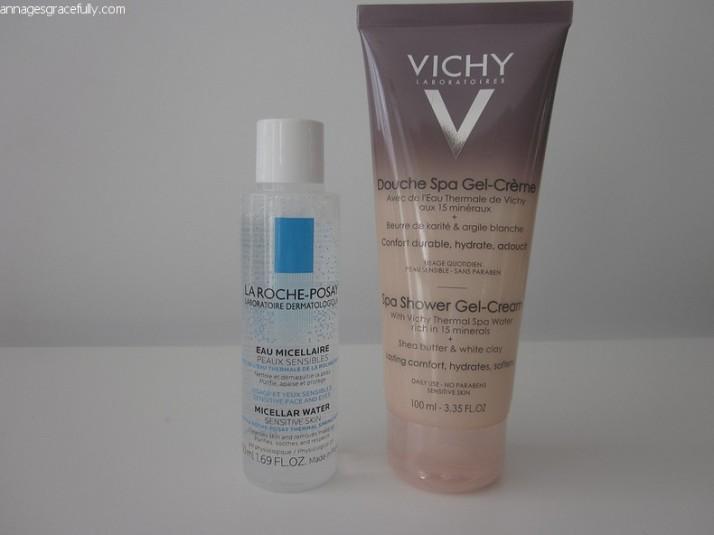 Vichy, La Roche-Posay micellaire water