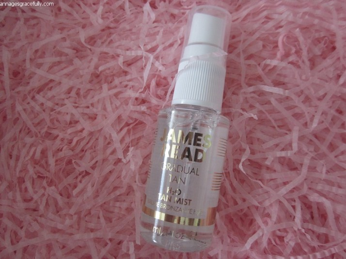 H2O Tan Mist James Read Gradual Tan