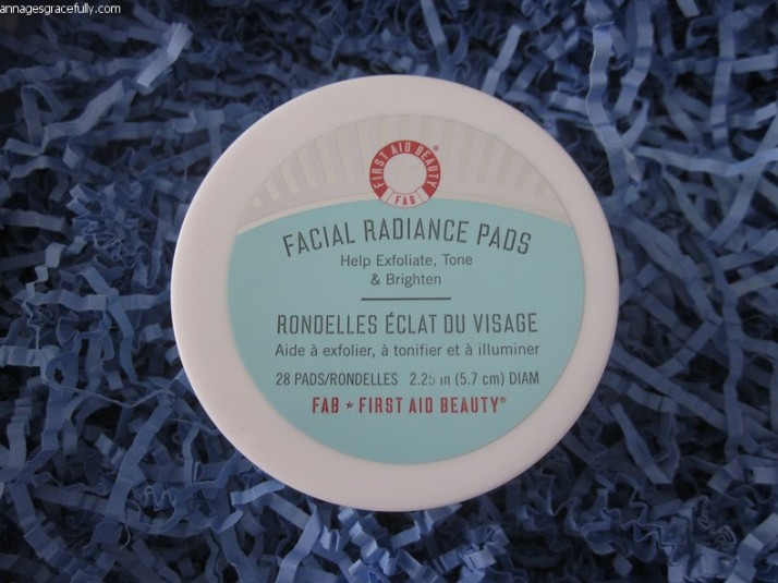 First Aid Beauty; Facial Radiance Pads