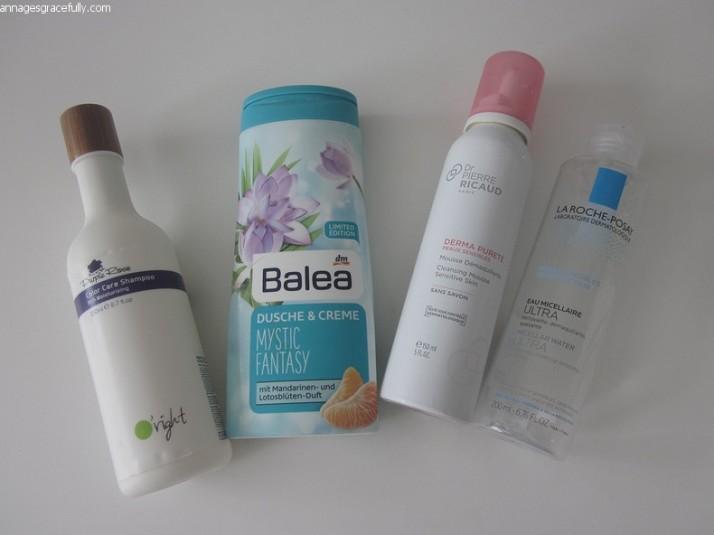 La Roche-Posay;Dr. Pierre Ricaud;Balea;O'right shampoo