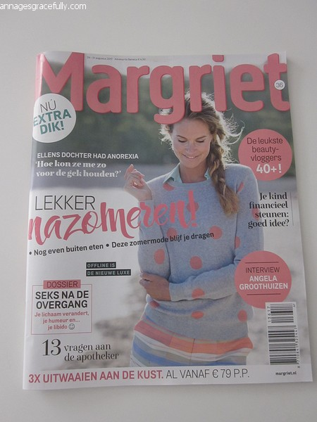 Margriet Ann Ages Gracefully