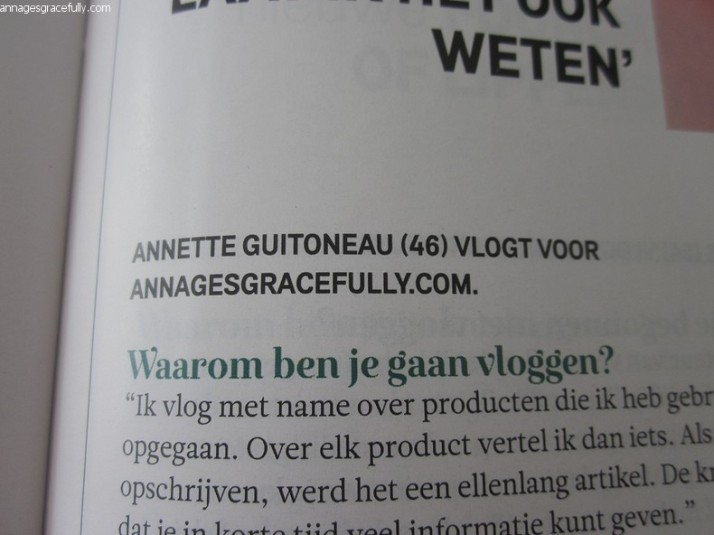 Margriet interview Annette Guitoneau
