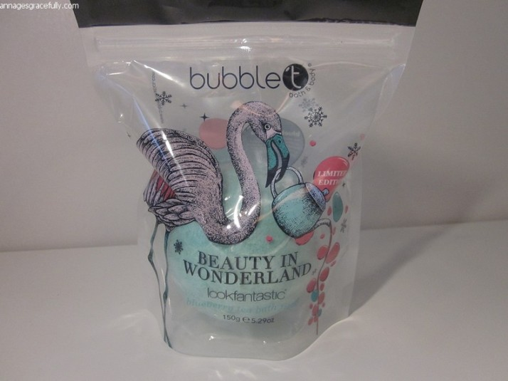 bubbleT bath fizzer LookFantastic december 2017