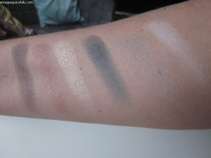 Swatches NYX beautyschool dropout 101