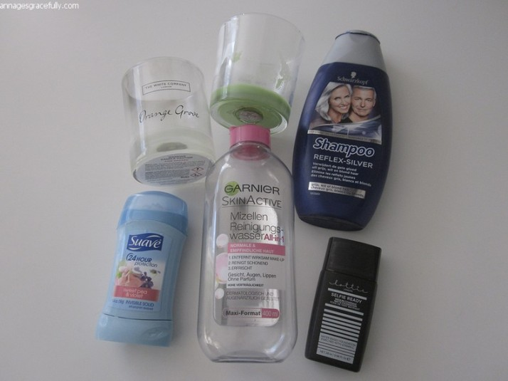 Swarzkopf;lottie london;Garnier;Suave