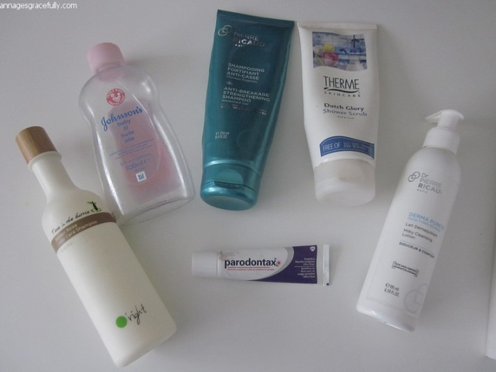 O'right shampoo;parodontax;Dr. Pierre Ricaud;Therme Dutch Glory