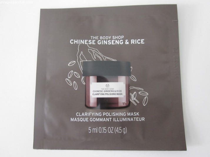 The Body Shop Chinese Ginseng & Rice
