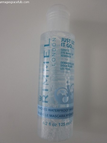 Rimmel oog make-up remover