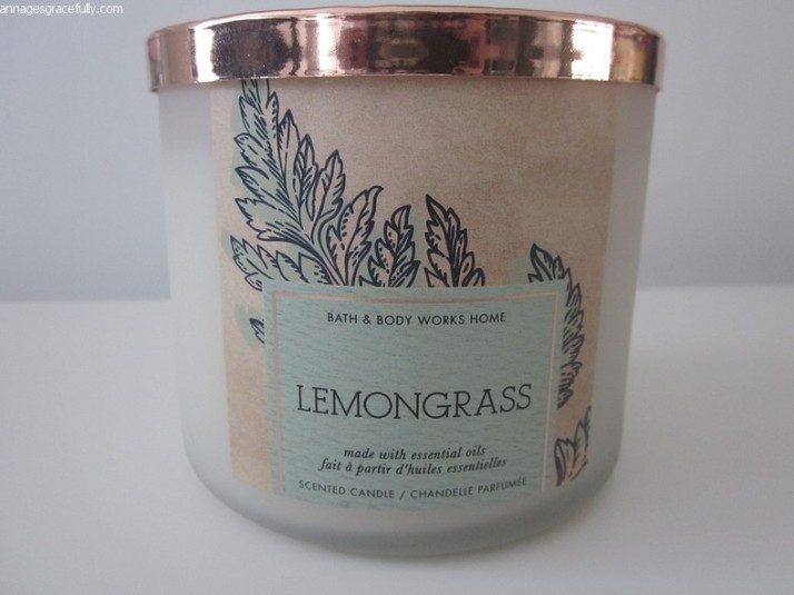 Lemongrass geurkaars Bath & bodyworks