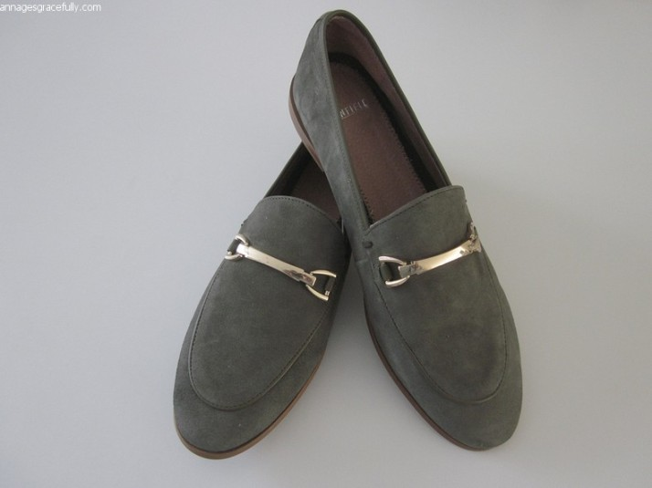 Manfield Kaki Loafers