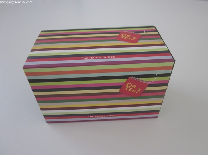 or Tea? rainbox box