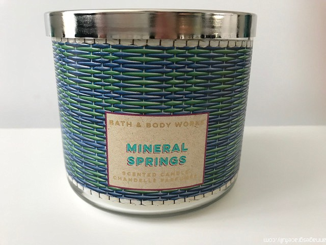 Mineral Springs Bath & body works
