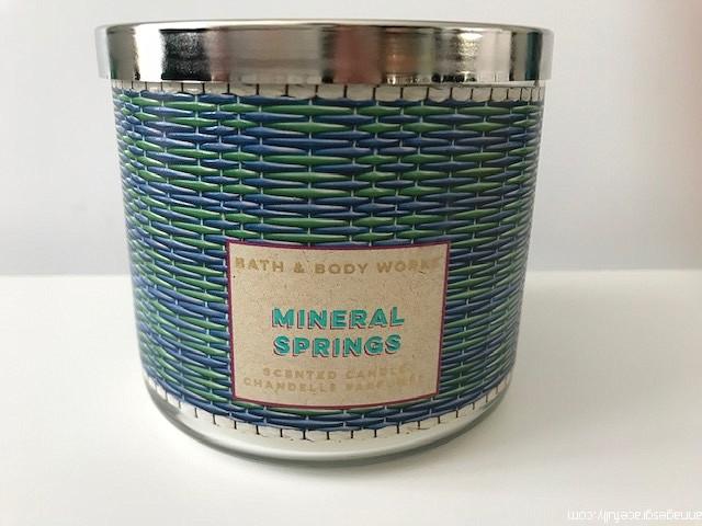 Mineral Springs Bath & body works
