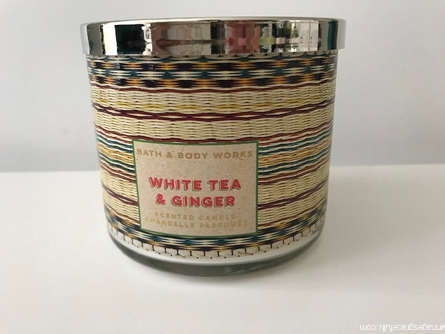White tea & Ginger bath & body works